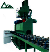 QGW Steel Tube And Pipe Shot Blasting Machines