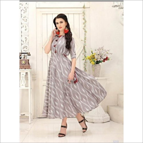 Printed Cotton Kurti Fabric