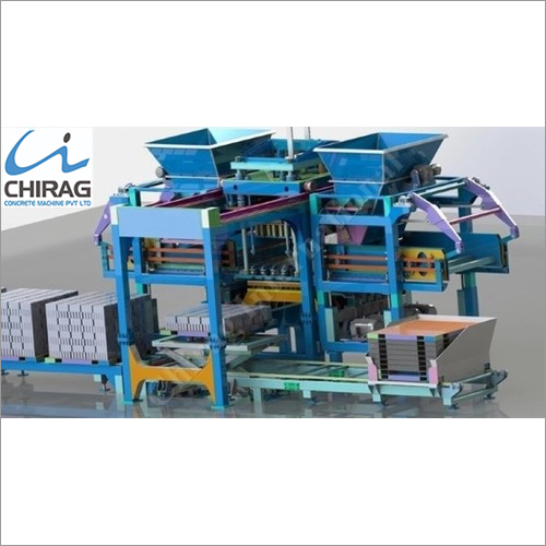 Chirag Advanced Popular Hydraulic Concrete Block Making Machine