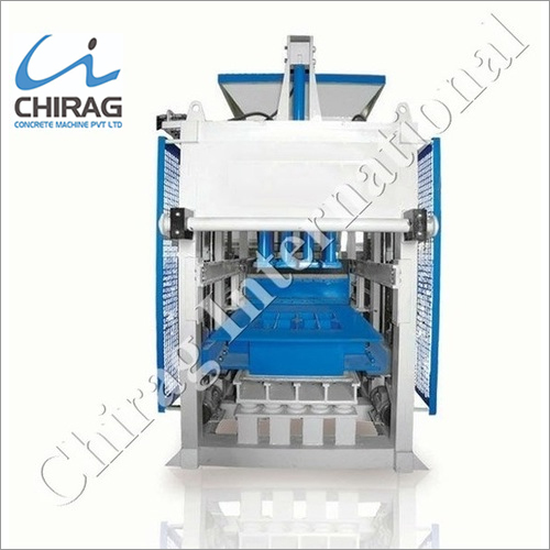 Chirag Multi-Design Hydraulic Block Machine