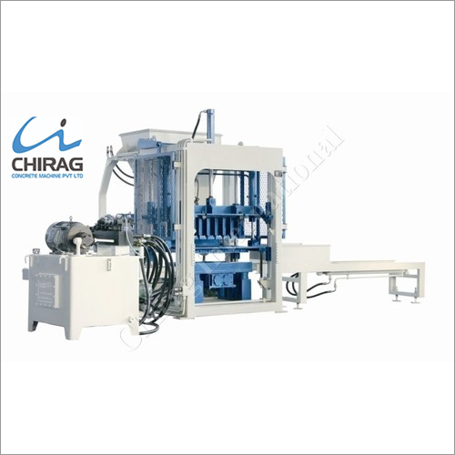 Chirag Integrated Advanced Block Making Machine