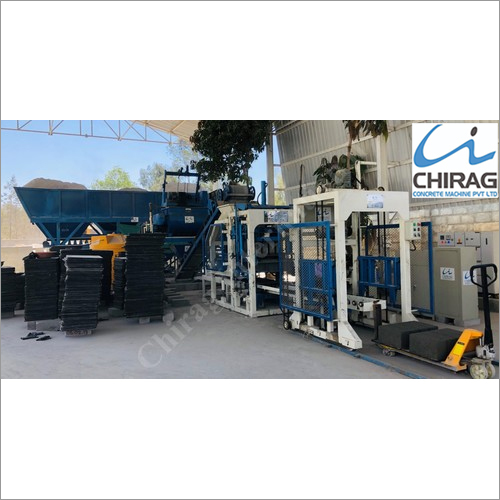 Chirag Fully Automatic Vibration Block Making Machine