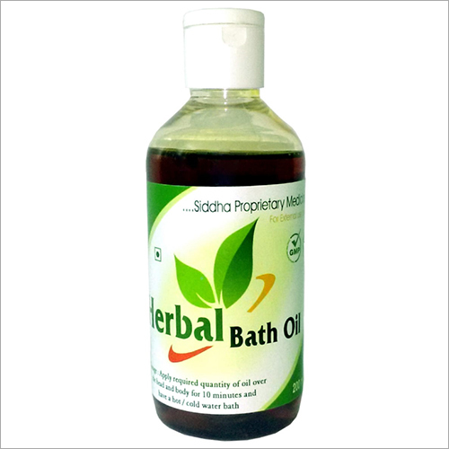 200ml. Herbal Bath Oil
