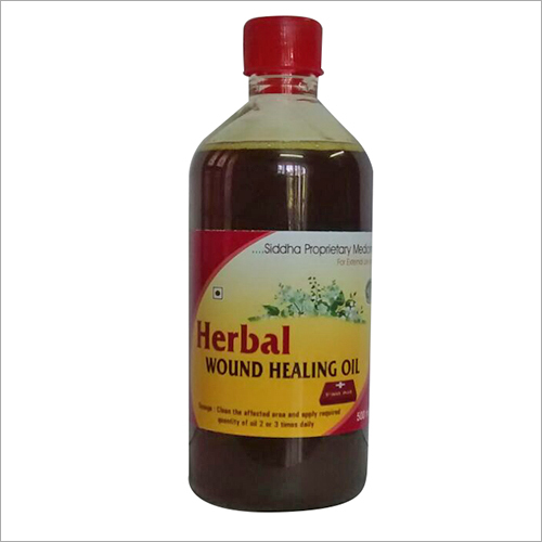 natural Herbal Wound Healing Oil