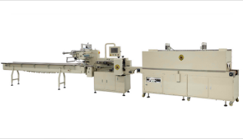 Model SF-R Automatic Horizontal Shrink Packaging Machine with Shrink tunnel
