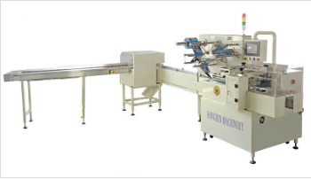 Model SG Automatic Horizontal Biscuit on Edge Packing Machine