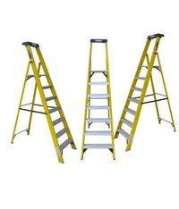 FRP FOLDING PLATFORM STEP LADDER