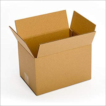 Corrugated Brown Packaging Box