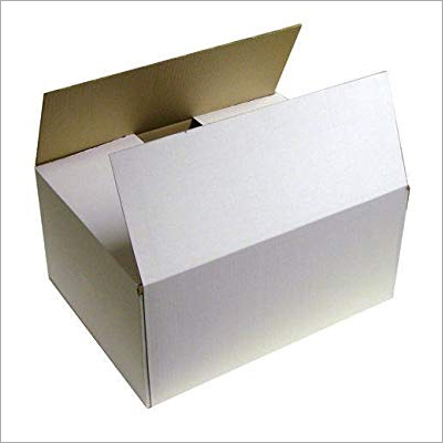 Corrugated Cardboard White Box