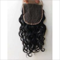 Natural Temple Curly Lace Closure