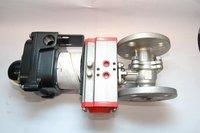 ss-flange ball valve