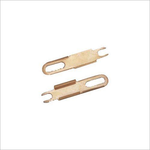 Brass Sheet Cutting Clip Part