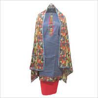 Cotton Salabh Printed Salwar Unstitched Suit