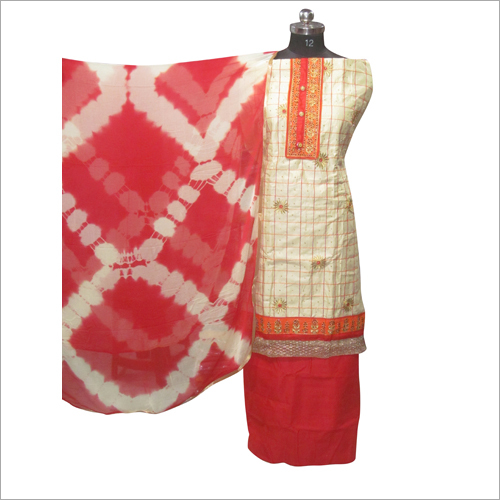 Printed Salwar Unstitched Suit