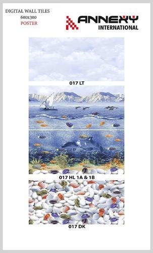 Digital Ceramic Wall Tiles 30x60 cm