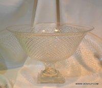Crystal Glass Fruits Bowl