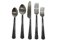 Ridge Flatware Serving Set