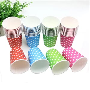 coloured Paper Cup