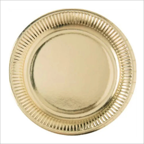 Disposable Silver Paper Plate