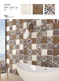 Glossy Bathroom Wall Tiles