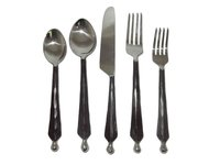 Ridge Ball Flatware Serving Set