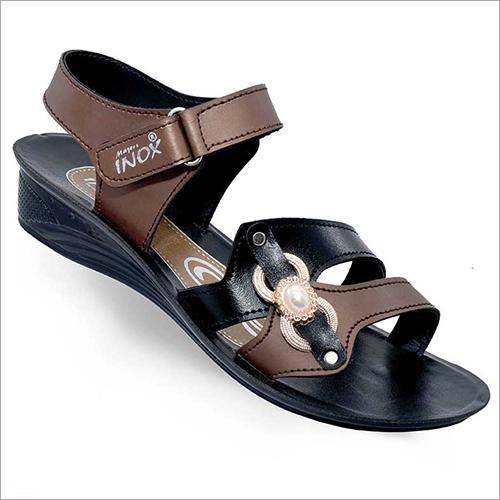 Ladies PU Leather Sandal
