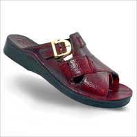 Mens Leather Slipper