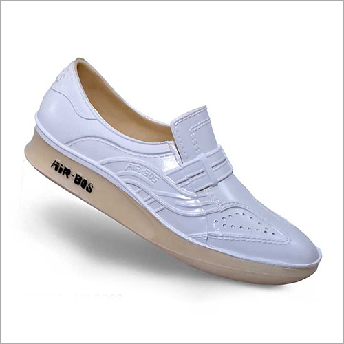 Air Boss White Rainy Shoes
