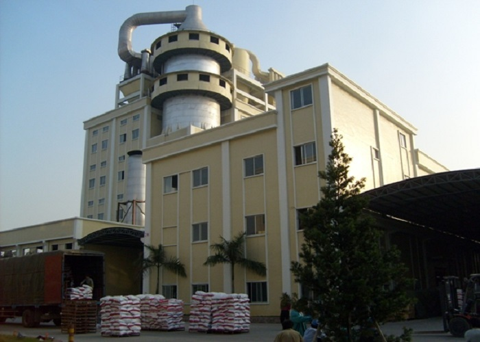 Washing powder plant