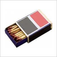 Cardboard Safety Match Box