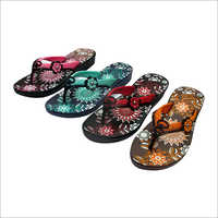 Ladies Printed Slipper