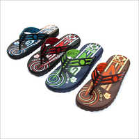 Mens Printed Slipper