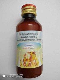 Dried aluminium Hydroxide 600mg + magnesium Hydroxide 250 mg + Act. Polydimethyl sliaxone 50mg/5ml