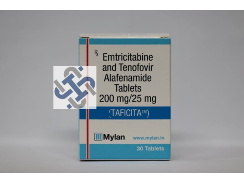 TAFICITA Emtricitabine 200mg Tenofovir disoproxil fumarate 25mg TABLETS