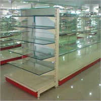 Departmental Display Glass Rack