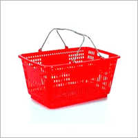 Plastic Handle Basket