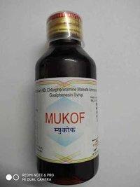 Dextromethophan HBr. 5 mg + Chlorpheniramine Maleate 2.5 mg + guaifenesin 50mg + Ammonium chloride 60gm / 5ml
