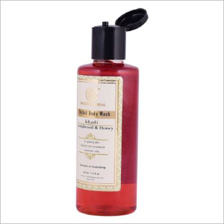 Sandalwood and Honey Herbal Body Wash