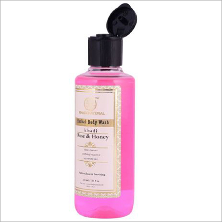 Rose and Honey Herbal Body Wash