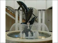 Dolphin Dome Fountain