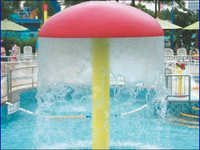 Swimming Pool Umbrella Fountain