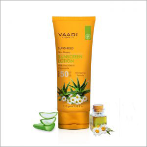 Aloe Vera Sunscreen Lotion