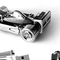 Quace Racing Car Metal USB Pen Drive (X1629)