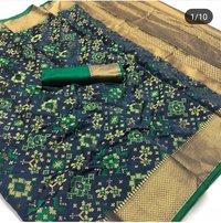 Elegant Patola Jacquard Silk Saree