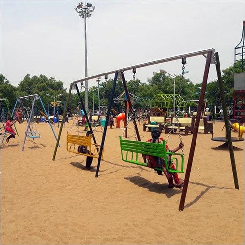 Playground Slide Swing