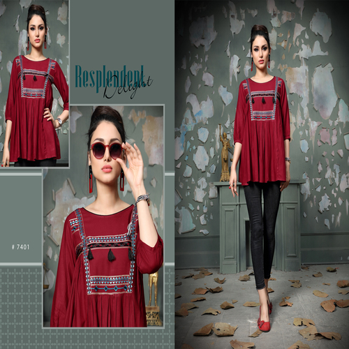 Stylish And Fancy Hand Work Tunics