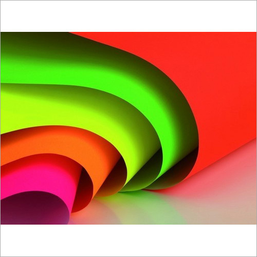 Fluorescent Paper For Signage Label