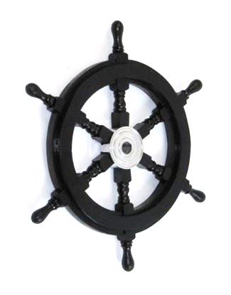 Pirate Ship Wheel 18 Inch