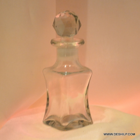Antique Glass Perfume Bottle