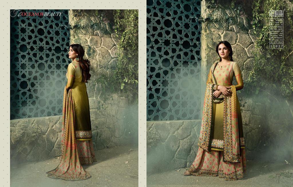 Digital Printed Plazzo Suits